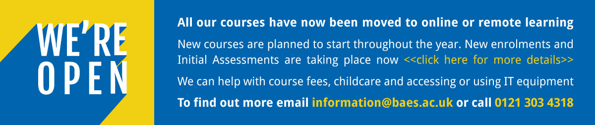 Open up our latest course listings
